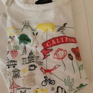 Jcrew California shirt